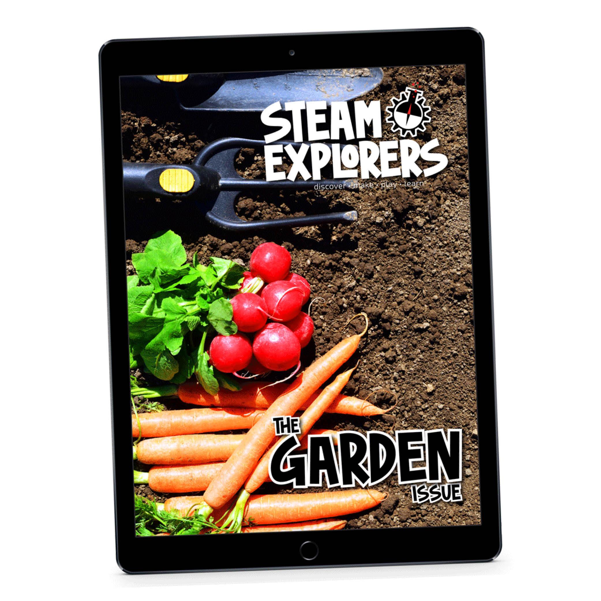 Garden Issue Ipad on Angle