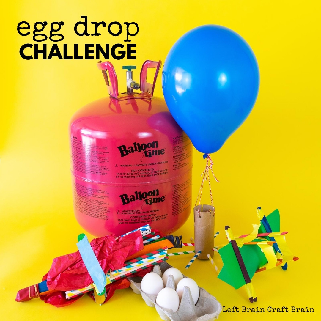 The egg drop challenge is a super fun STEM activity for kids. They'll learn about engineering, problem solving, and more. Perfect for school and scouts!