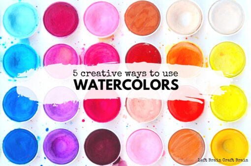 5 Creative Ways to Use Watercolors 680x450