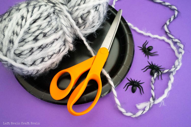 spider web weaving supplies