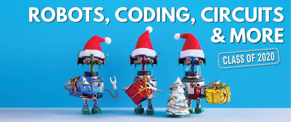 robots coding circuits electronics - 2020