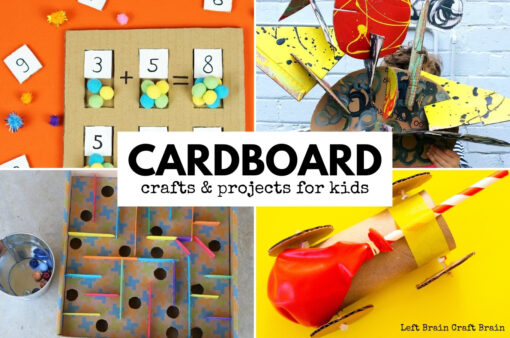 Cardboard Crafts and Cardboard Projects for Kids 680x450
