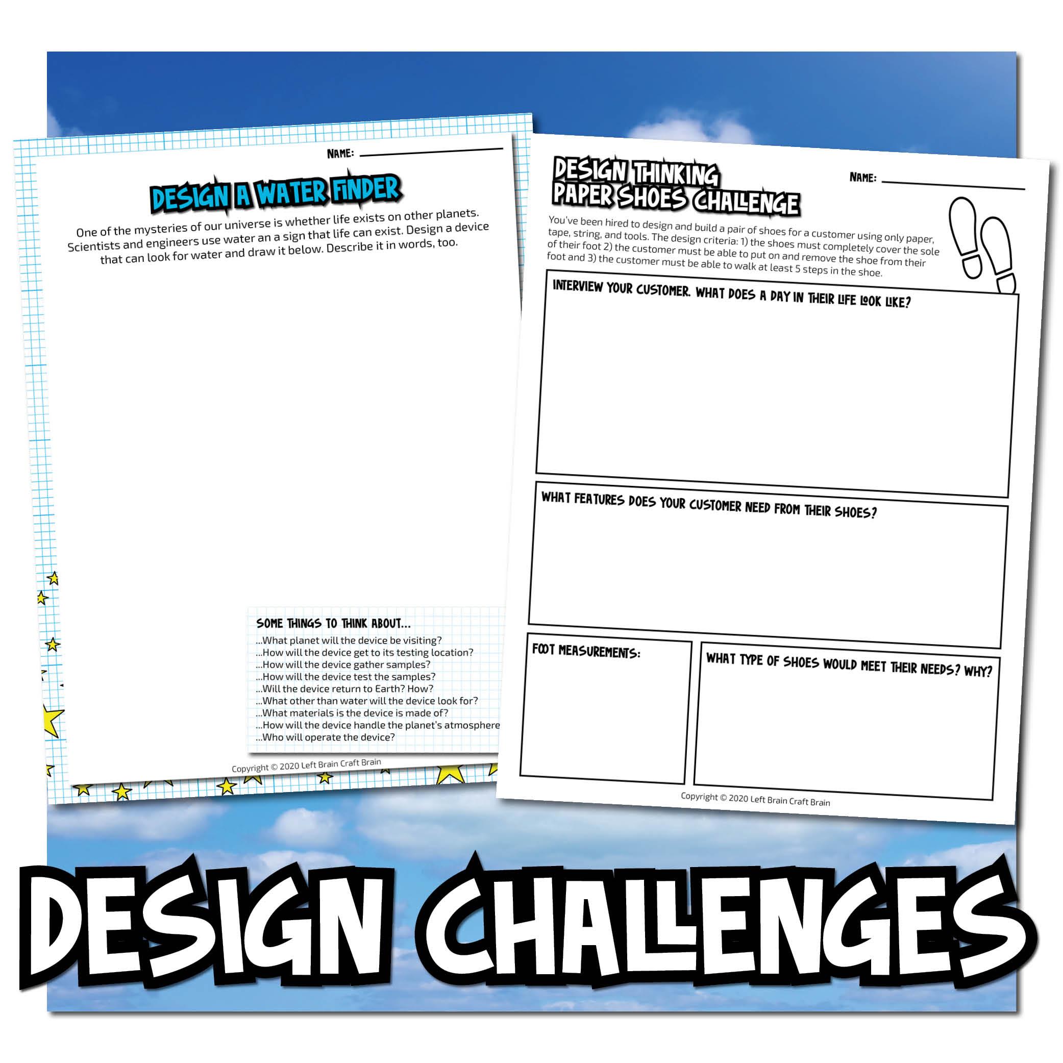 Design Challenges Dream Big Bundle