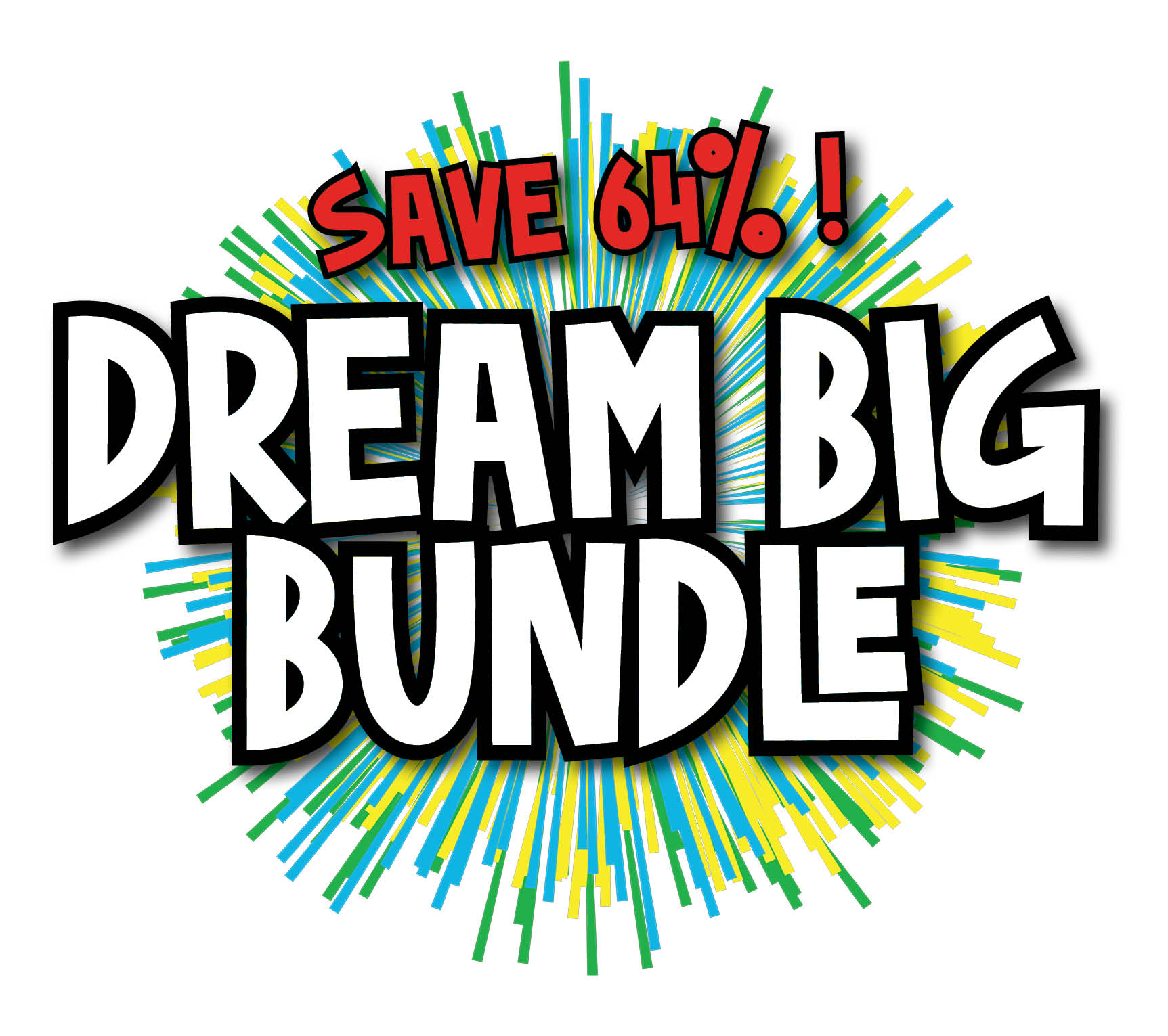 Dream Big Bundle Title Exp save 64