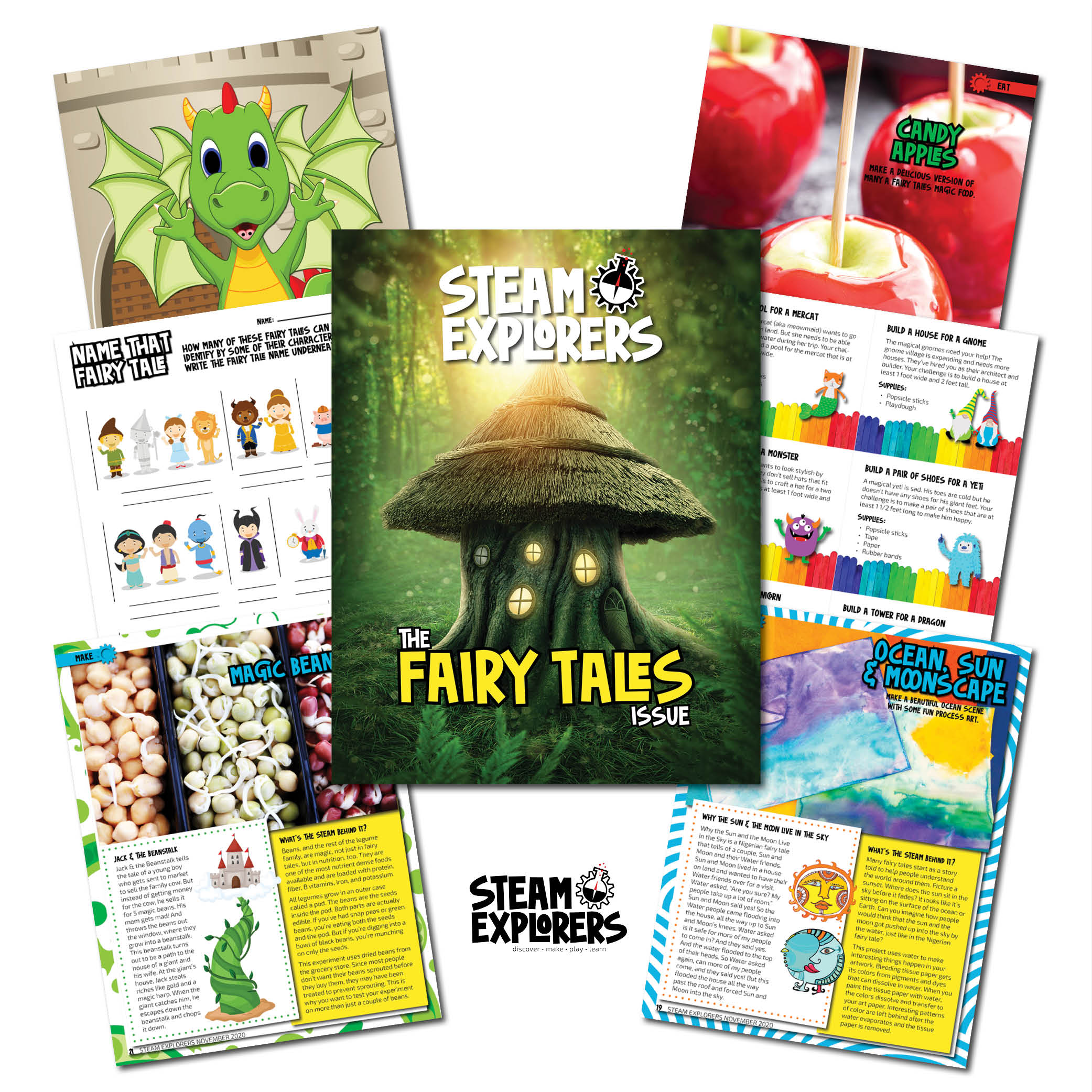 STEAM Explorers Fairy Tales Issue Whats Inside 1000x1000