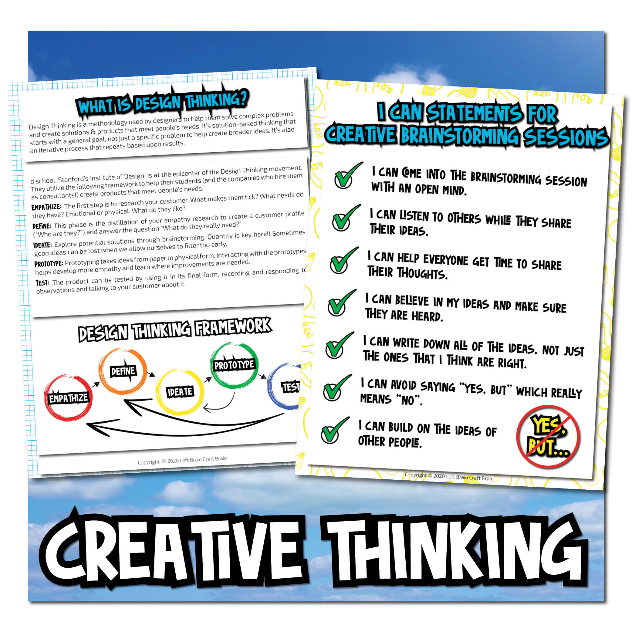 creative thinking Dream Big Bundle
