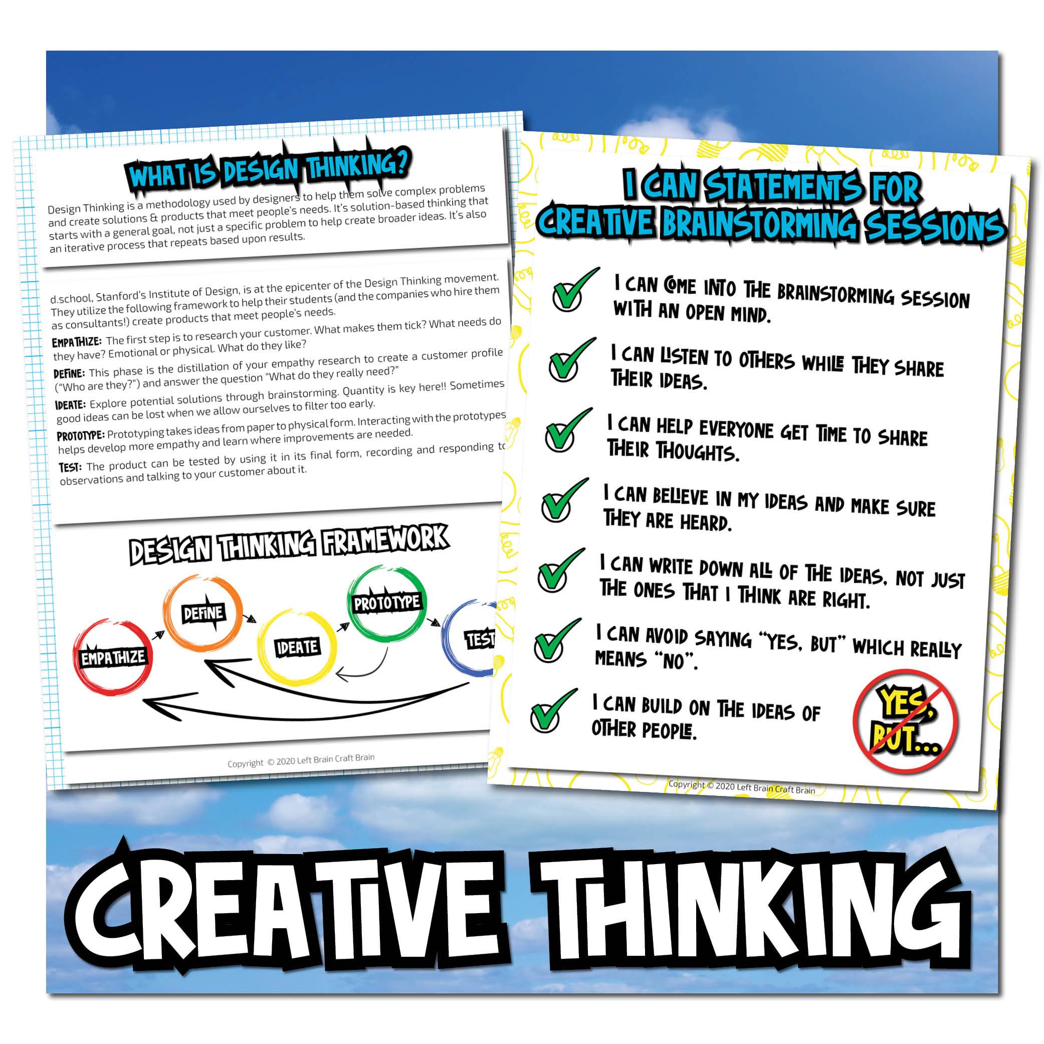 creative thinking Dream Big Bundle