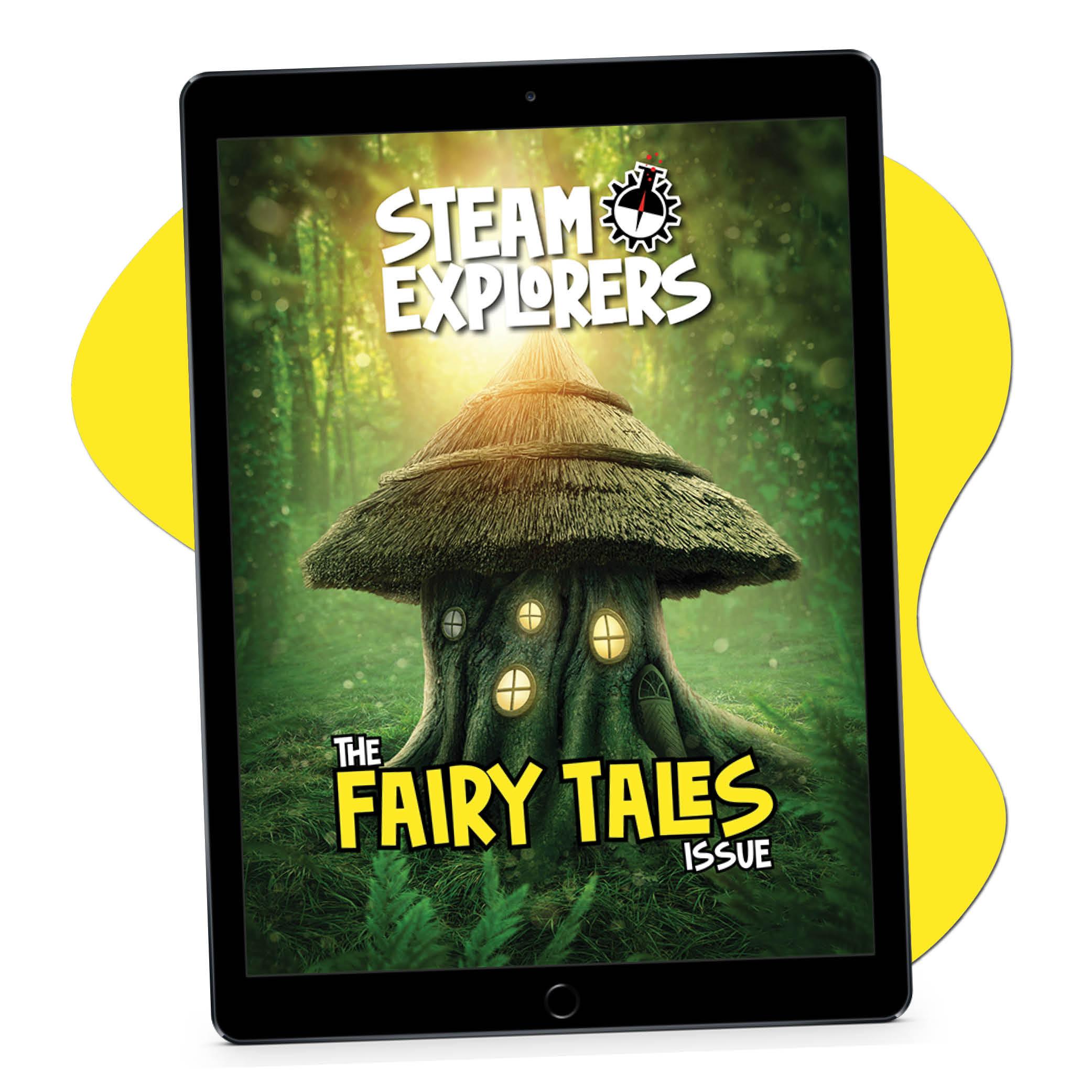 fairy tale ipad on blob