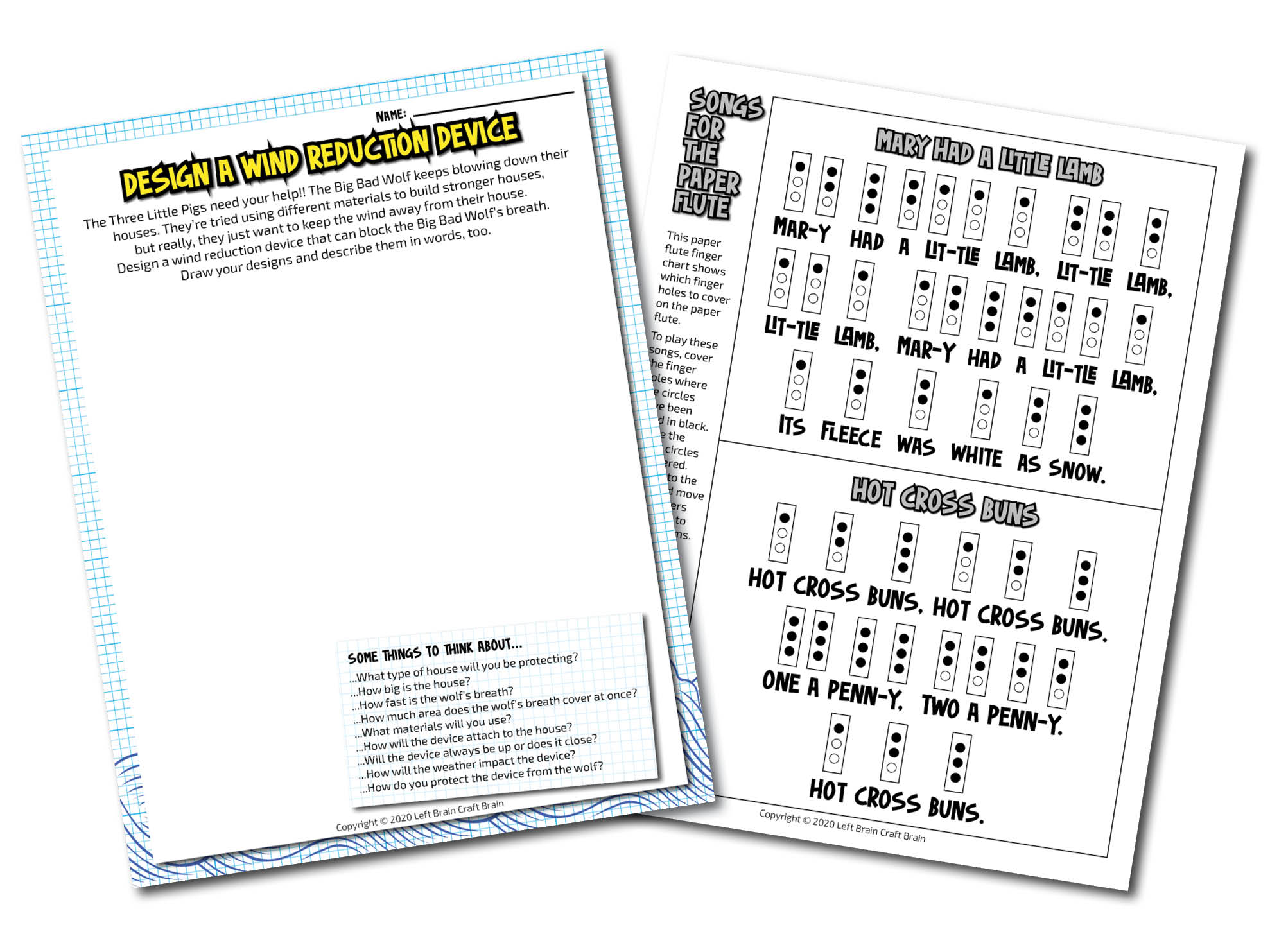 quick print worksheets - fairy tales
