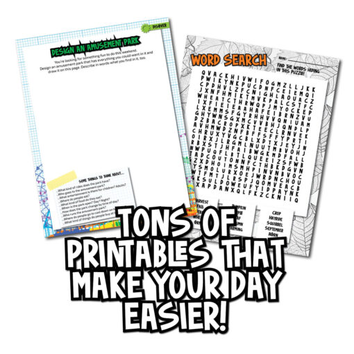 printables that make day easier - four seasons