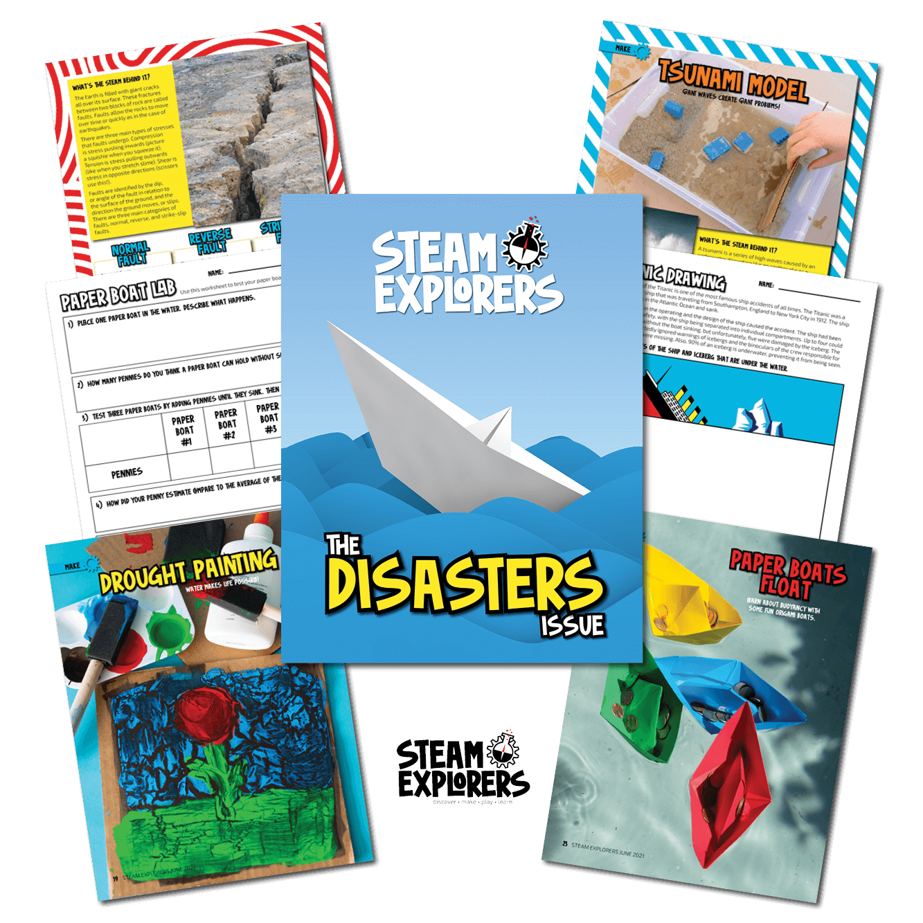 whats inside - disasters comp