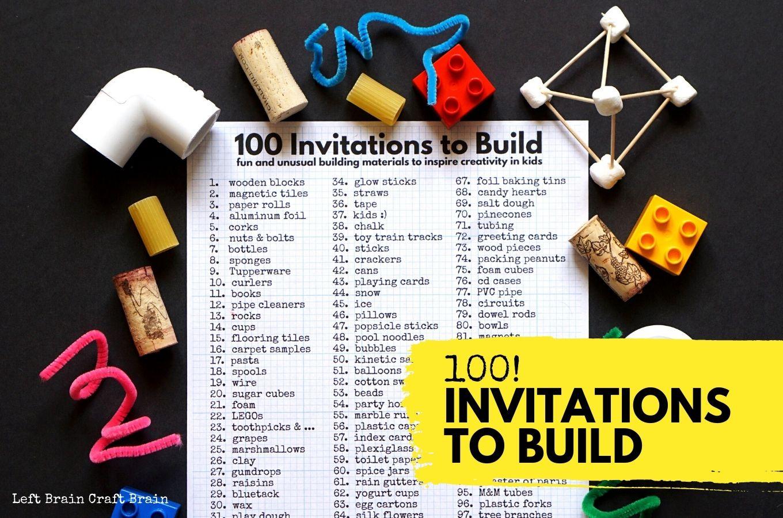 100 Invitations to Build 1360x900
