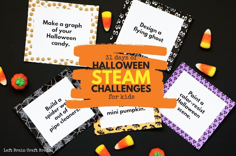 31 Days of Halloween STEAM Challenges for Kids 1360x900jpg
