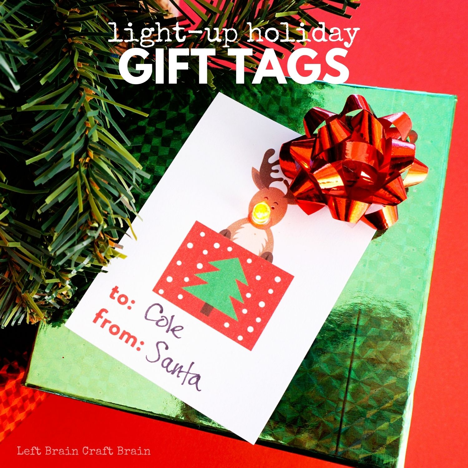 Light Up Holiday Gift Tags 1500x1500