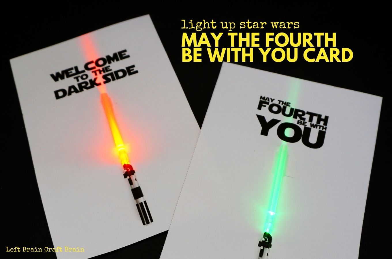 Light Up May the Fourth Be With You Card 1360x900