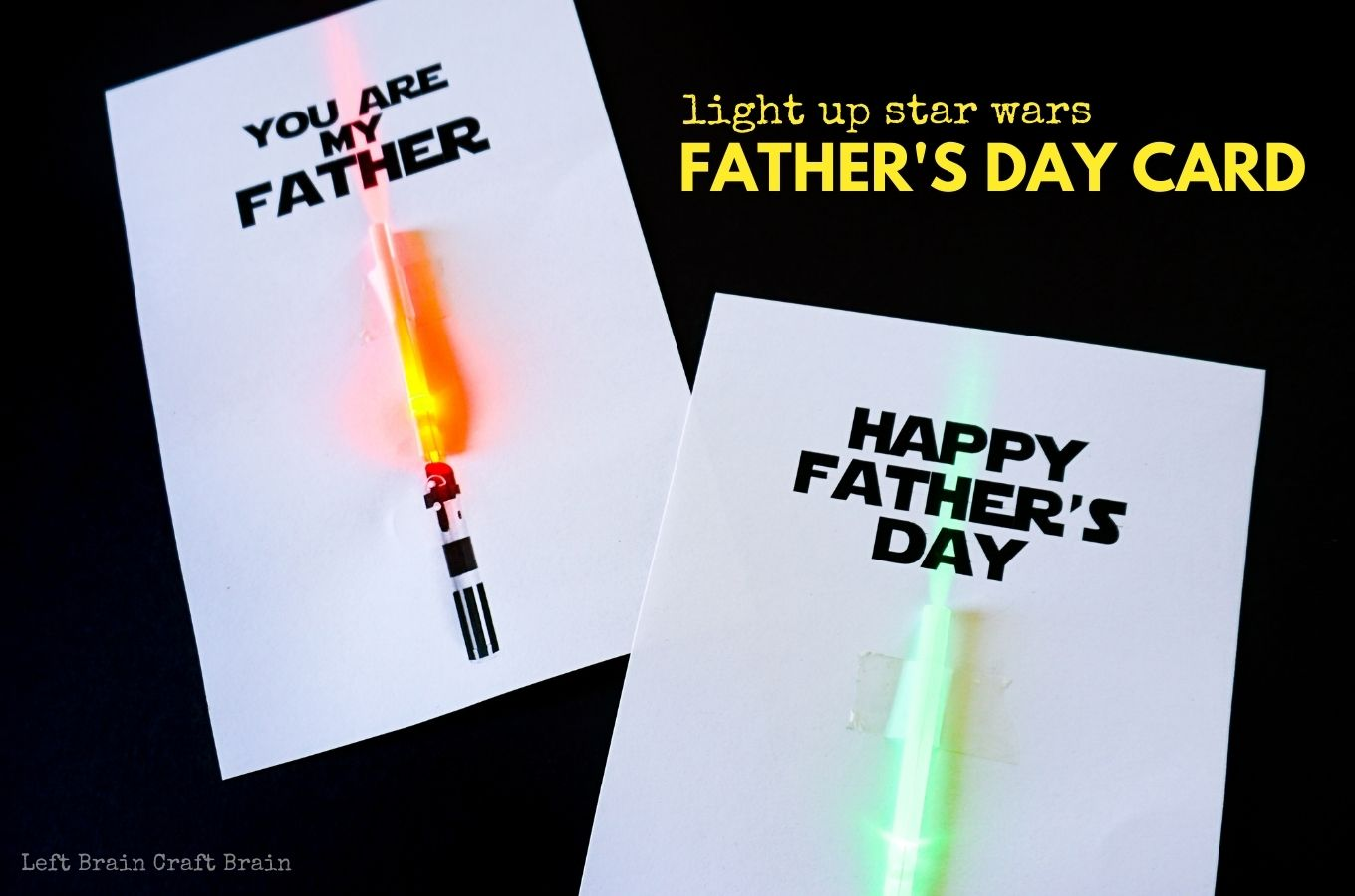light up star wars fathers day card 1360x900